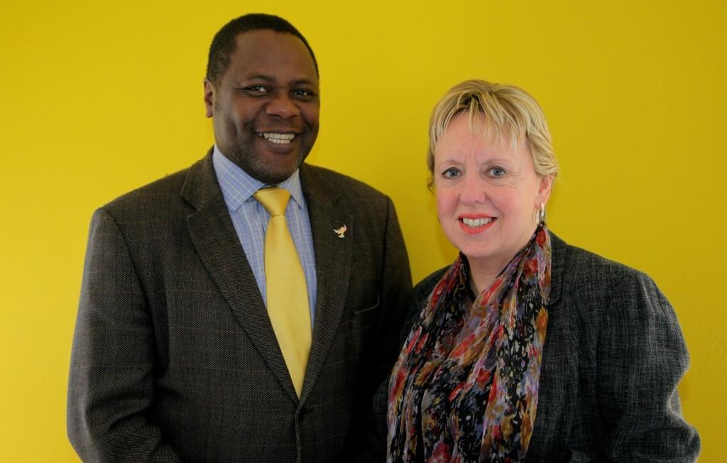 Ade Adeyemo & Lorely Burt MP