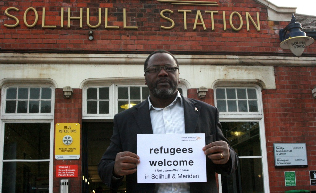 Refugees are Welcome in Solihull and Meriden